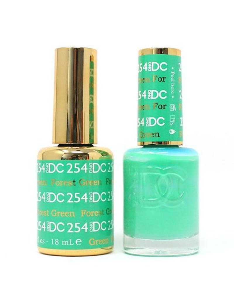 DND 254 FOREST GREEN - DND DC Duo Gel Matching Color