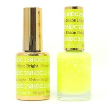 DND DC Duo Gel Matching Color - 258 SHINE BRIGHT
