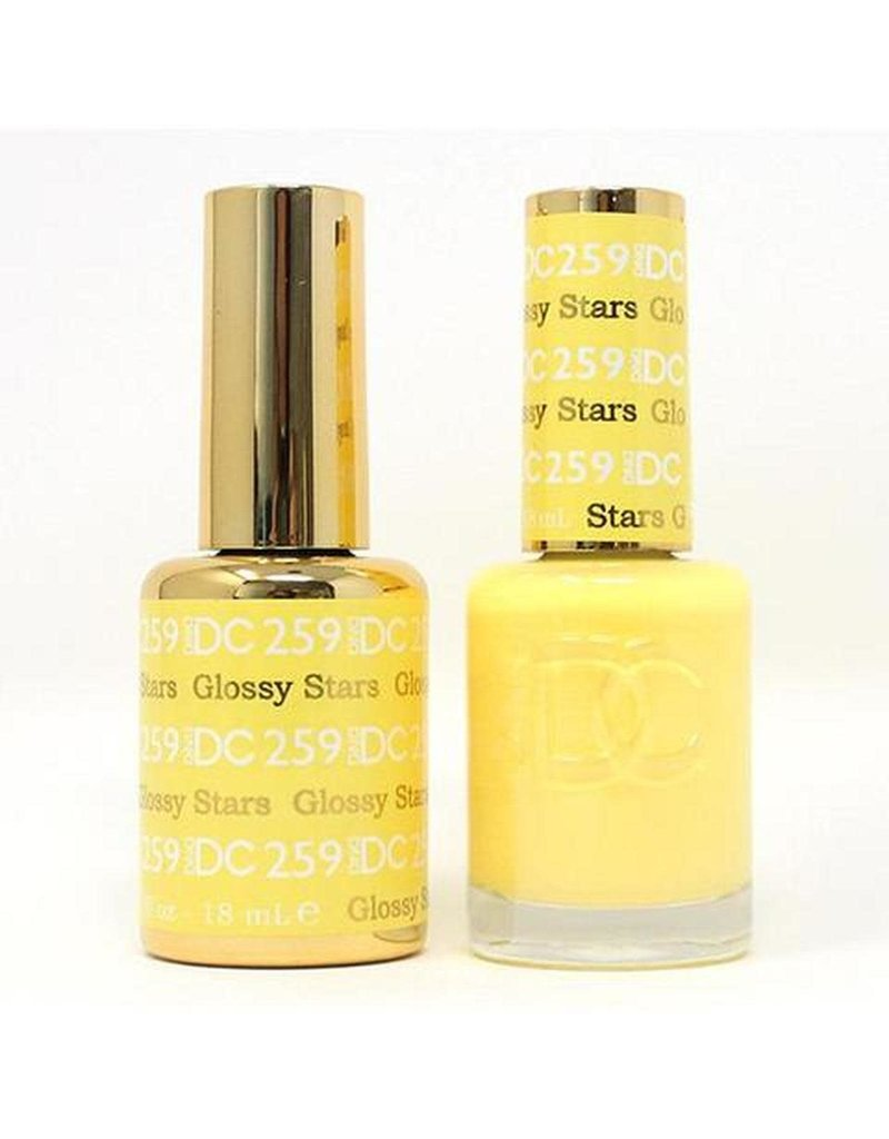 DND 259 GLOSSY STARS - DND DC Duo Gel Matching Color