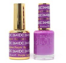 DND DC Duo Gel Matching Color - 264 EGYPTIAN PURPLE