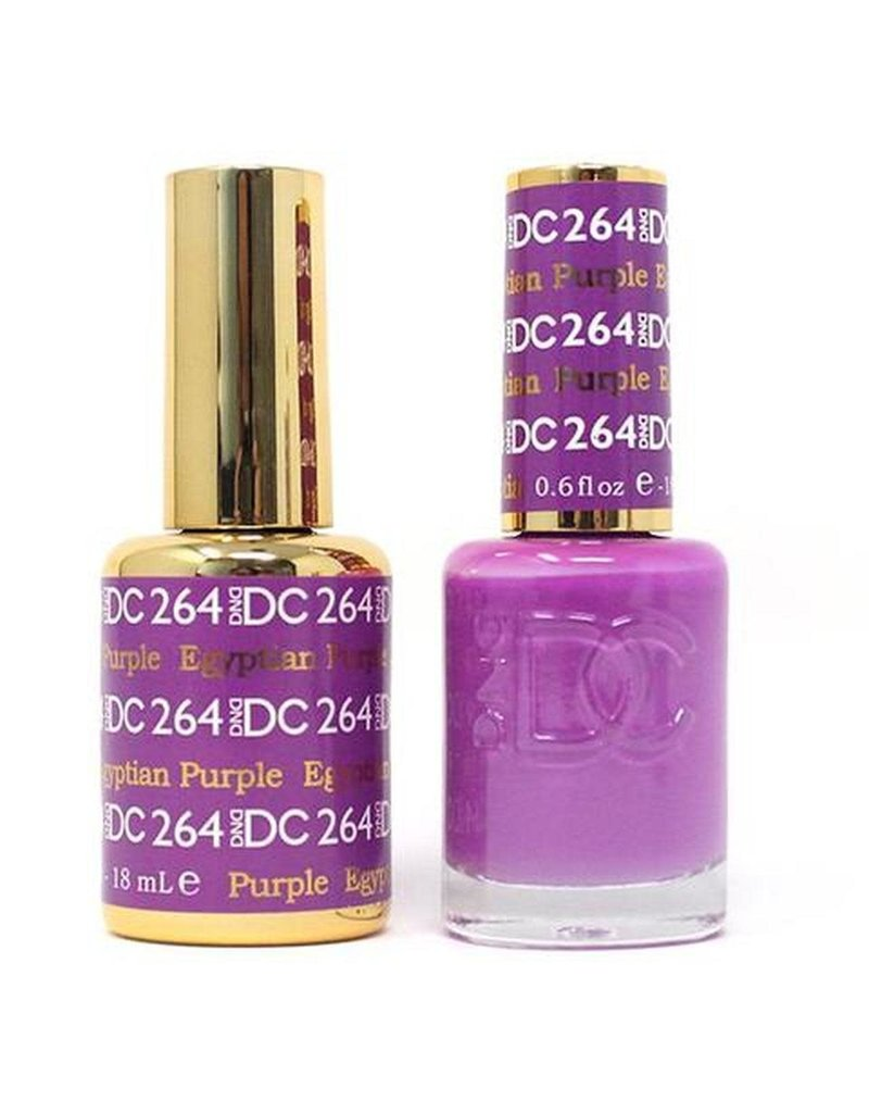 DND 264 EGYPTIAN PURPLE - DND DC Duo Gel Matching Color