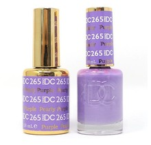 DND DC Duo Gel Matching Color - 265 PEARLY PURPLE