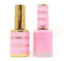 DND DC Duo Gel Matching Color - 270 LILY GARDEN
