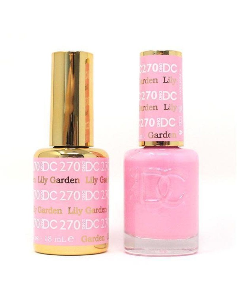 DND DND DC Duo Gel Matching Color - 270 LILY GARDEN