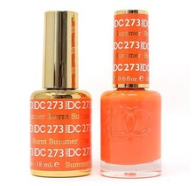 DND DC Duo Gel Matching Color - 273 BURNT SUMMER
