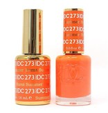 DND 273 BURNT SUMMER - DND DC Duo Gel Matching Color