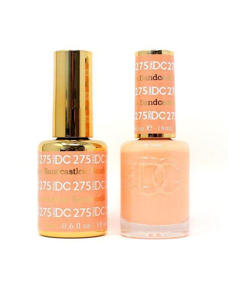 DND 275 SANSCASTLES - DND DC Duo Gel Matching Color