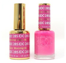 DND DC Duo Gel Matching Color - 285 MORNING GLORY