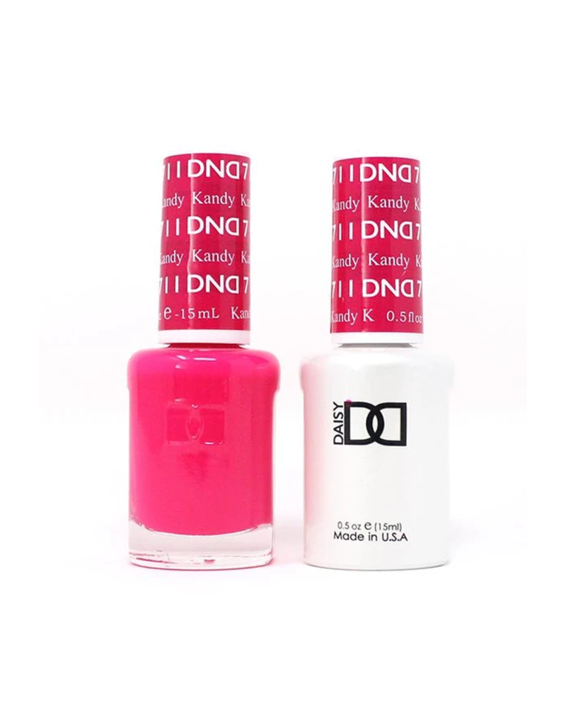 DND 711 Kandy - DND Duo Gel + Lacquer