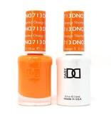DND 713 Orange Sherbet - DND Duo Gel + Lacquer