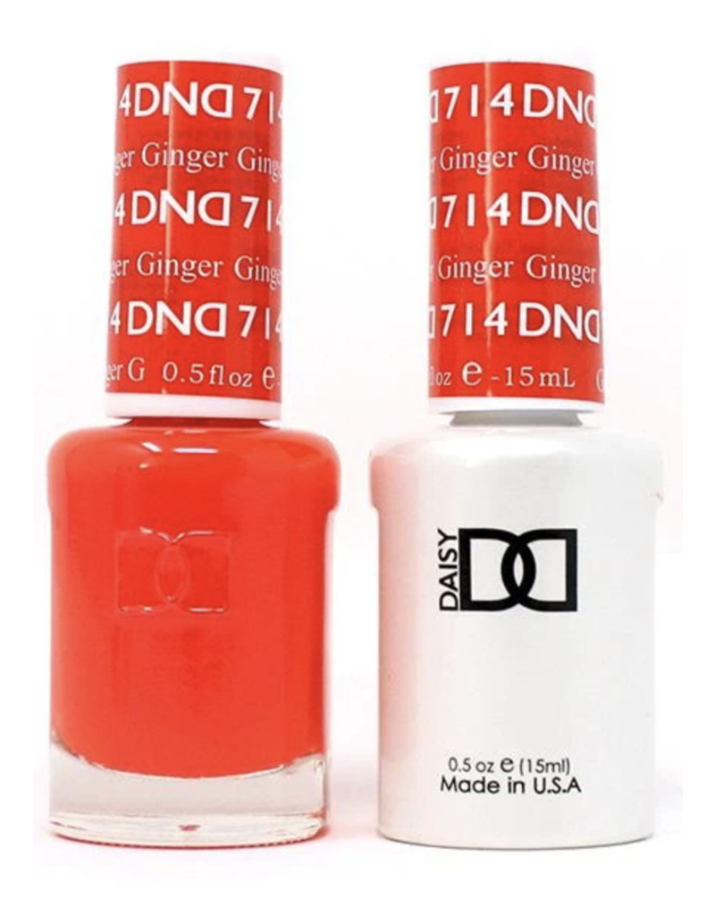 DND 714 Ginger - DND Duo Gel + Lacquer