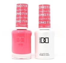 DND Duo Gel Matching Color - 718 Pink Grapefruit