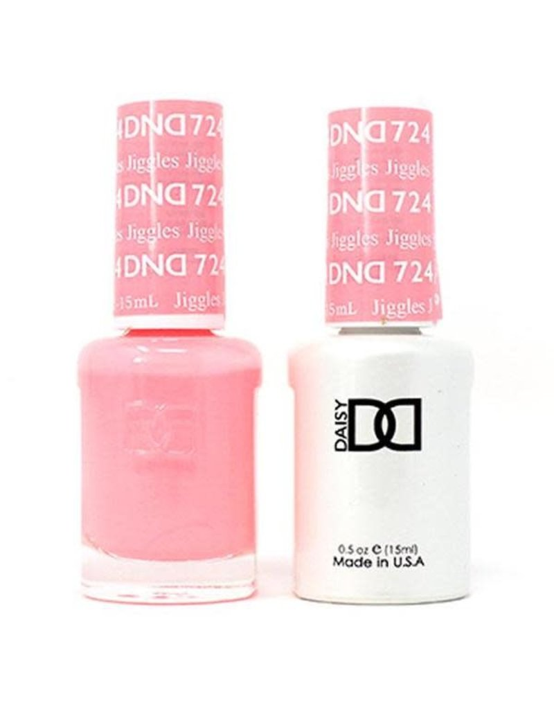 DND 724 Jiggles - DND Duo Gel + Lacquer