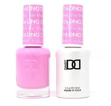 DND Duo Gel Matching Color - 726 Whirly Pop