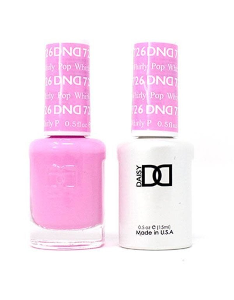 DND 726 Whirly Pop - DND Duo Gel + Lacquer