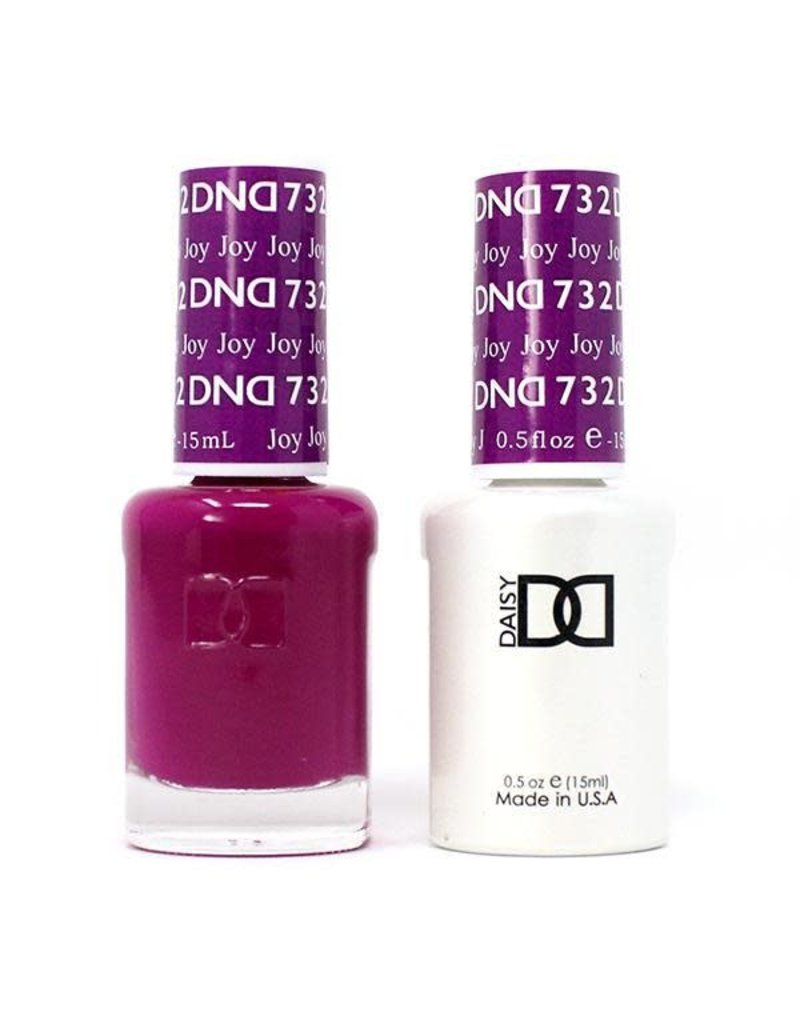 DND 732 Joy - DND Duo Gel + Lacquer