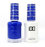 DND 734 Berry Blue - DND Duo Gel + Lacquer