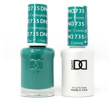 DND Duo Gel Matching Color - 735 Cosmopolitan