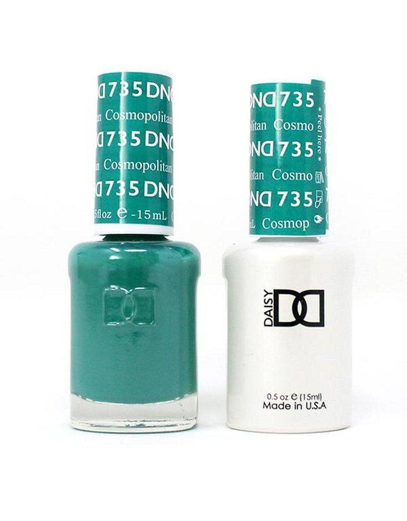 DND 735 Cosmopolitan - DND Duo Gel + Lacquer