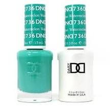 DND Duo Gel Matching Color - 736 Watrmelon