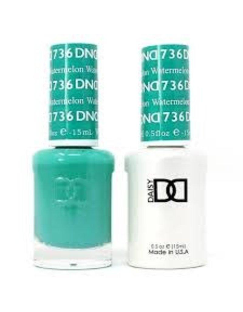 DND 736 Watrmelon - DND Duo Gel + Lacquer