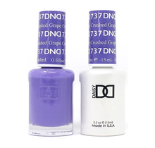 DND Duo Gel Matching Color - 737 Crushed Grape