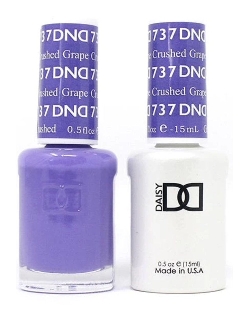 DND 737 Crushed Grape - DND Duo Gel + Lacquer