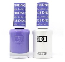 DND Duo Gel Matching Color - 738 Lollie