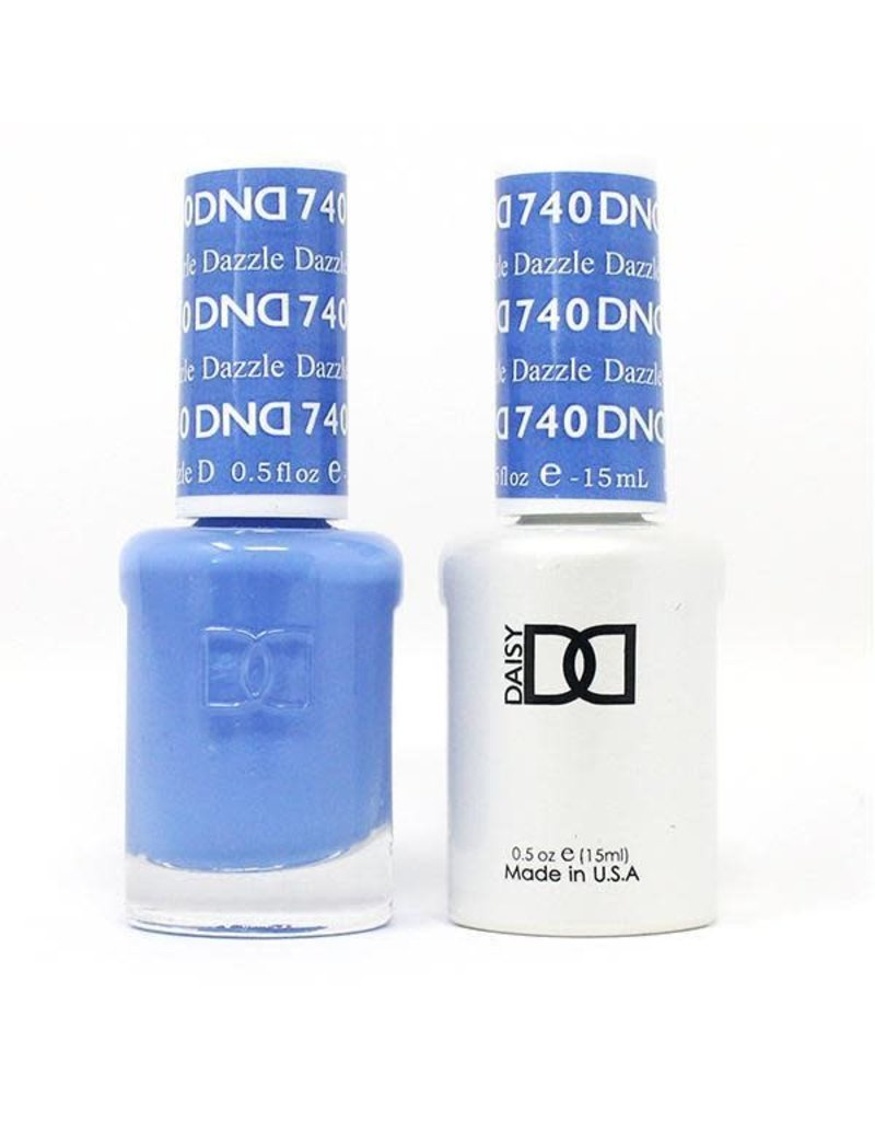 DND 740 Dazzle - DND Duo Gel + Lacquer
