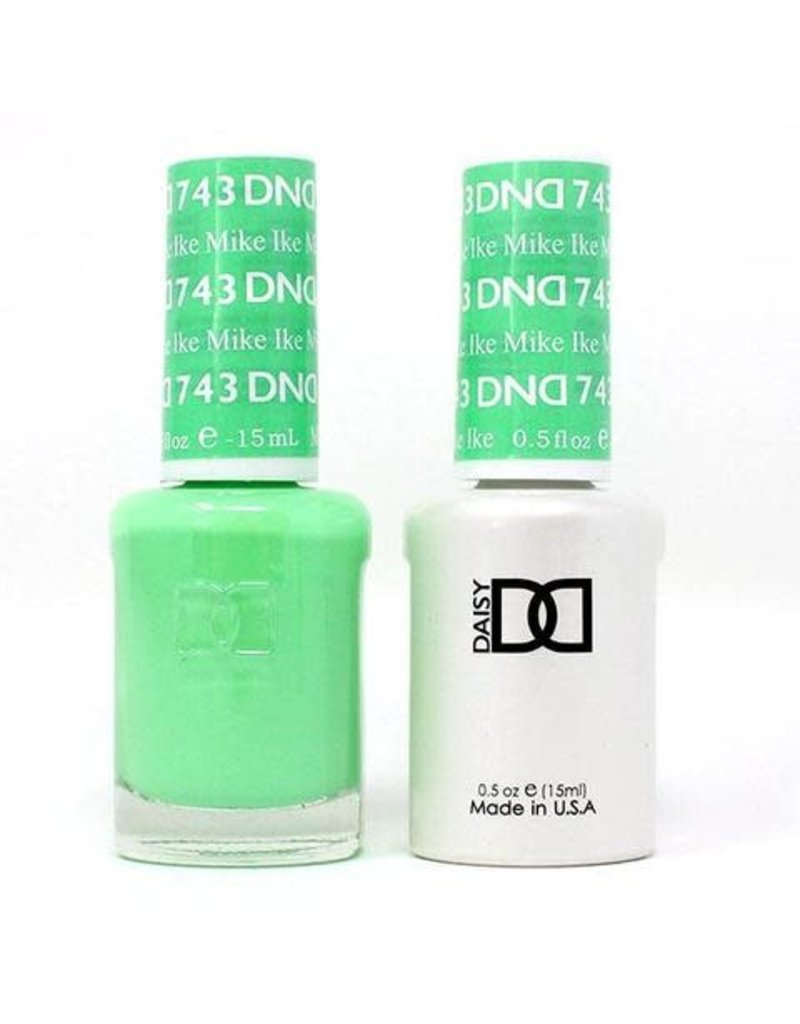 DND 743 Mike Ike - DND Duo Gel + Lacquer