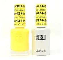 DND Duo Gel Matching Color - 744 Caramel Corn
