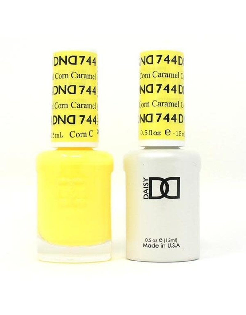 DND 744 Caramel Corn - DND Duo Gel + Lacquer