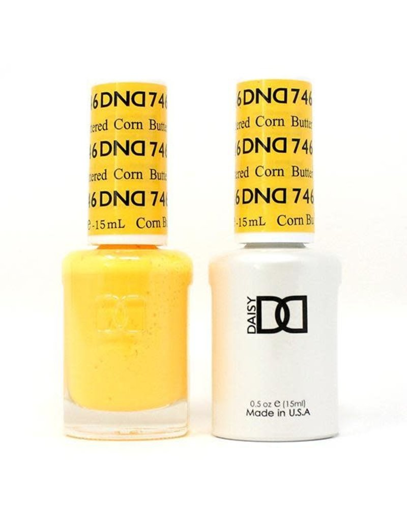DND 746 Buttered Corn - DND Duo Gel + Lacquer