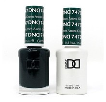 DND Duo Gel Matching Color - 747 Auora Green