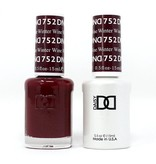 DND 752 Winter Wine - DND Duo Gel + Lacquer