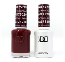 DND Duo Gel Matching Color - 752 Winter Wine