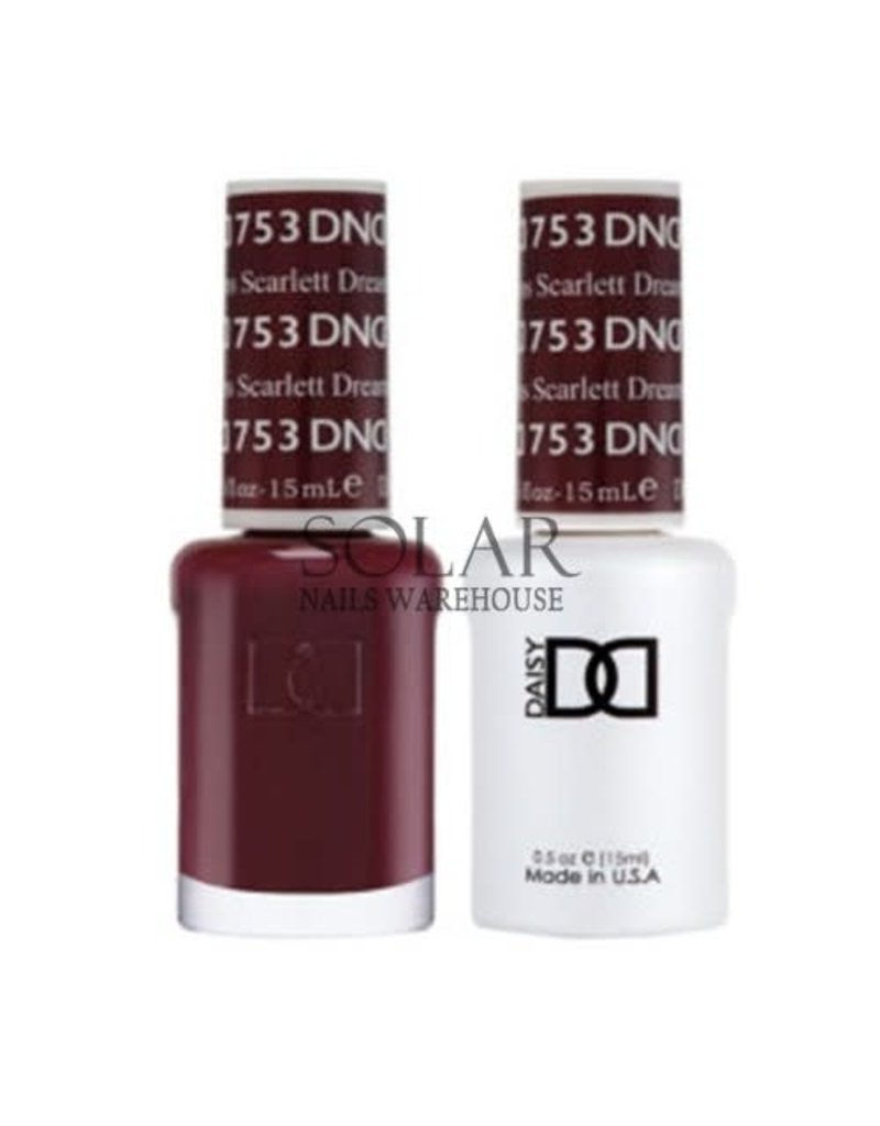 753 Scarlett Dreams - DND Duo Gel + Lacquer