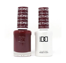 DND Duo Gel Matching Color - 754 Winter Berry