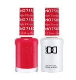 DND 758 Electric Night - DND Duo Gel + Lacquer