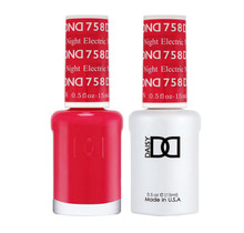 DND Duo Gel Matching Color - 758 Electric Night