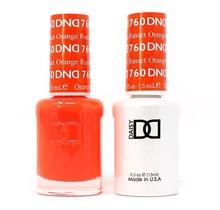 DND Duo Gel Matching Color - 760 Russet Orange