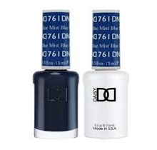 DND Duo Gel Matching Color - 761 Blue Mist