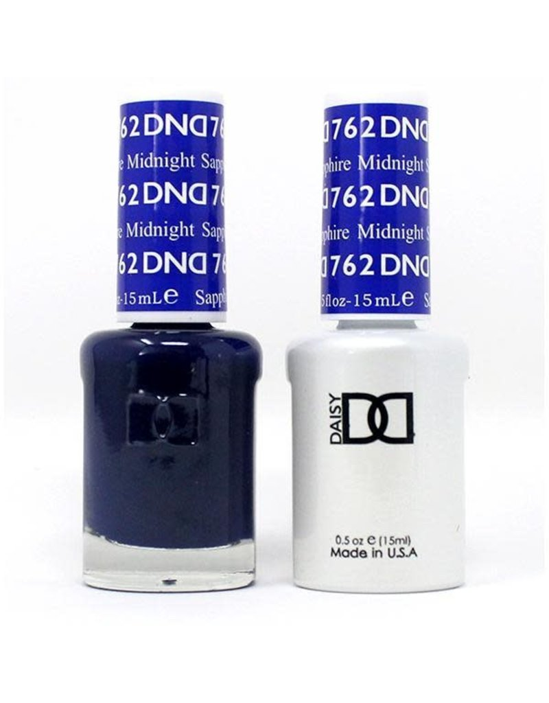 DND 762 Midnight Saphhire - DND Duo Gel + Lacquer