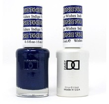 DND Duo Gel Matching Color - 764 Indigo Wishes