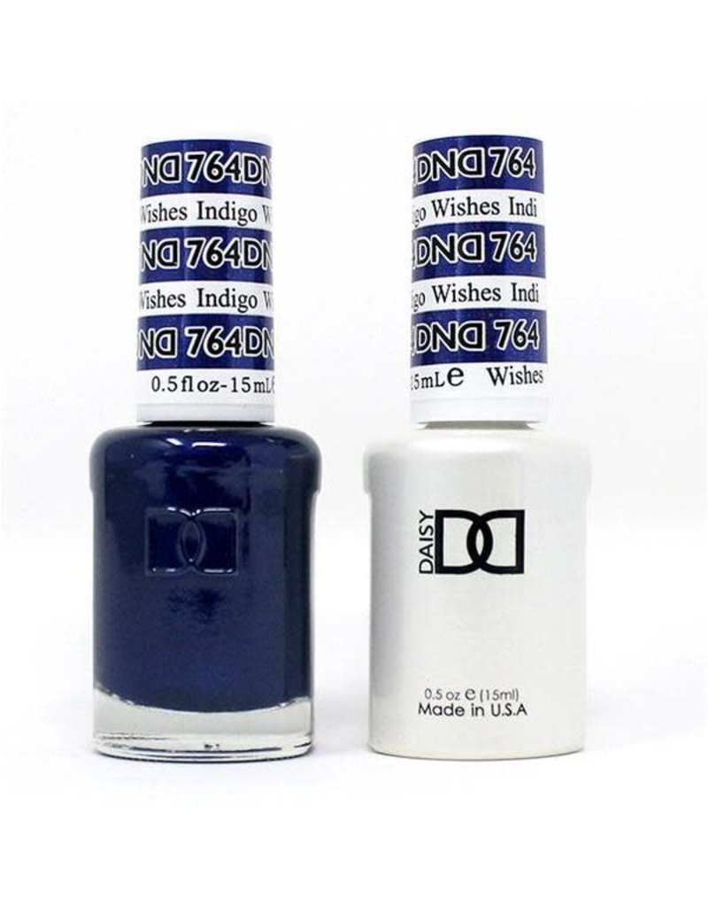 DND 764 Indigo Wishes - DND Duo Gel + Lacquer