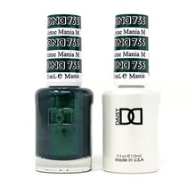 DND Duo Gel Matching Color - 766 Mistletoe Mania