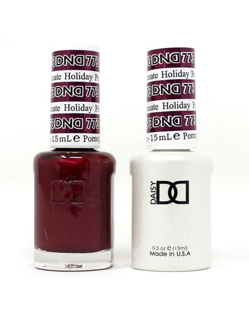 DND 773 Holiday Pomegranate - DND Duo Gel + Lacquer