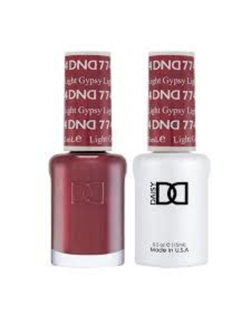 DND 774 Light Gypsy - DND Duo Gel + Lacquer