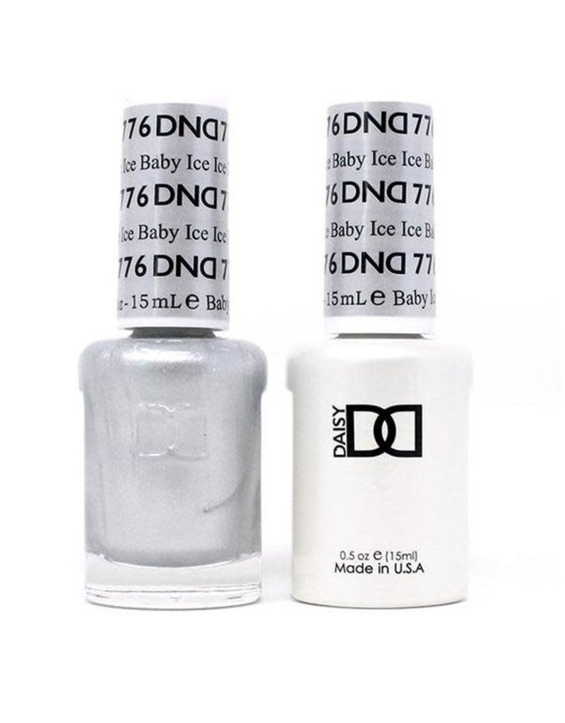 DND 776 Ice Bab - DND Duo Gel + Lacquer