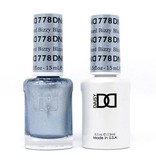 DND 778 Bizzy Blizzard - DND Duo Gel + Lacquer